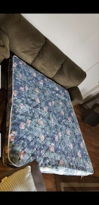Pull out sofa couch and reclining chair