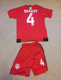 Michael Bradley TFC Jersey and shorts