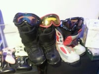Snow board boots size 11 & size 6m Kamloops, V2B 3C9