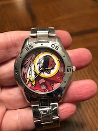 Brand New Stainless Steel Washington Redskins Watch  Hanover, 21076