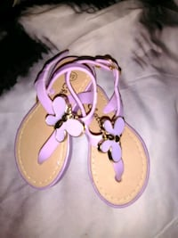 pair of pink leather sandals Baltimore, 21214