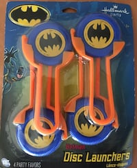 BATMAN DISC LAUNCHERS