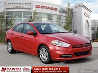 2014 Dodge Dart SE | 6-Speed Manual | Sport Cloth Seats | Edmonton