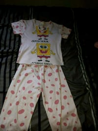 baby's white and pink footie pajama Montréal, H4L 2X5