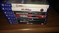 four assorted Sony PS3 game cases Burlington, L7T 3Z6