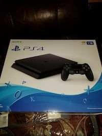 Sony PS4 console with Battlefront game