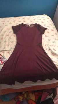 Maroon Special Occasion Dress  Vancouver, V6G 3A2