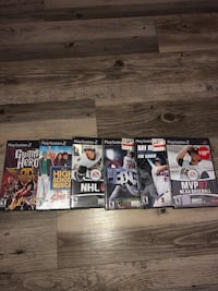 Vintage Play Station 2 games Edmonton