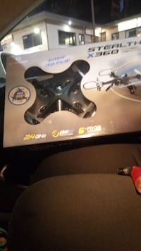 black Stealth X360 quadcopter pack Los Angeles, 91406