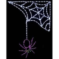 NIB! Brite Ideas LED Spider with Corner Web Gaithersburg