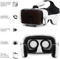 SoundVision Virtual Reality 3D Glasses for iPhone and Android brand new in box SURREY