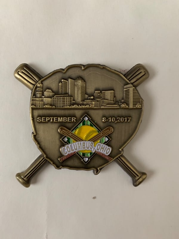 Wounded Warrior Amputee Softball Team challenge coin 2f64ef41-9d57-40eb-b4f1-c6dc3e2431fd