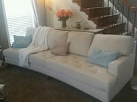 Sofa long large curved  Ashburn
