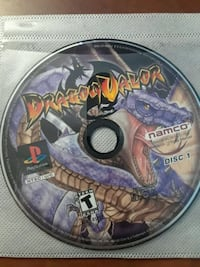 PS1 Game Dragon Valor disc 1+2