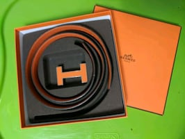 NEW AUTHENTIC HERMES BELT WITH BUCKLE