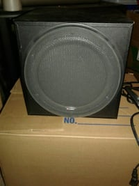 gray and black Bose speaker 2051 mi
