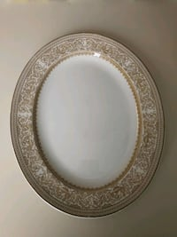 Crown Ducal 12 inch Oval Serving Platter Hokendauqua, 18052