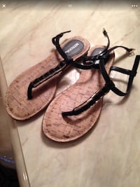 pair of brown-and-black sandals South Amboy, 08879