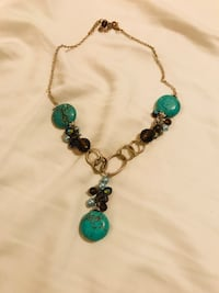 Turquoise Stone Necklace San Antonio, 78023