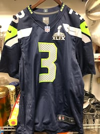 NFL Seattle Seahawks Russell Wilson sz M Burnaby, V5G 3X4