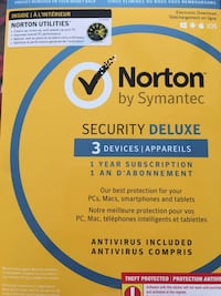 Norton protection, good for 2 more devices.  Calgary, T3J 4R1