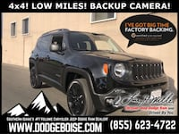 2018 Jeep Renegade Upland Edition 4x4 LOW MILES! BACKUP CAMERA! Boise