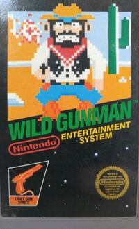 NES Wild Gunman Nintendo Video Game Waynesboro, 17268