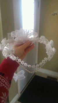 white and pink floral wreath Mississauga, L5C