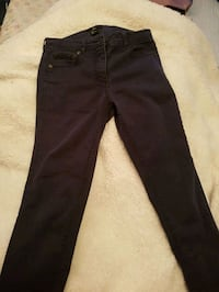 black denim straight cut jeans Toronto, M1B 3H6