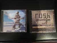 Rush set of 2 CDs – Test for Echo and Roll The Bones Toronto