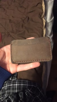 Leather Wallet Hominy, 74035