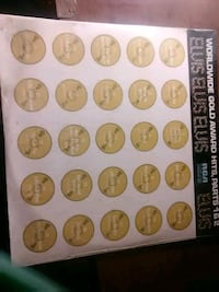 round silver and gold coin collection Temple Hills, 20748