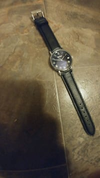 Automatic Watch with Quality Leather Band Calgary, T3H