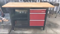 Vintage restored craftsman work bench Santa Barbara, 93103