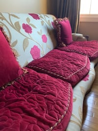 Custom designer couch purchased from Tradition De France in old town Alexandria. Herndon, 20171