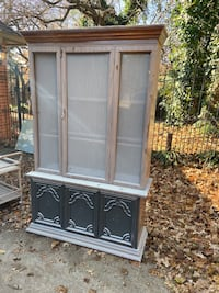 China cabinet, no shelves project piece