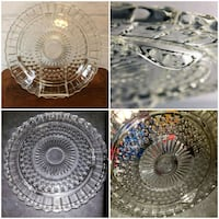 1950's Federal Glass Footed Cake Plate/Centerpiece Barrie, L4N 9T3