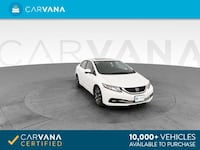 2015 Honda Civic sedan EX-L Sedan 4D WHITE Brentwood, 37027