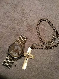 Good Michael Kors Watch With Sterling Silver chain Abilene, 79603