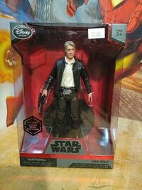 Star Wars Han Solo action figure with box Staten Island, 10302