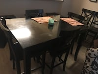 Bar height table with 6 chairs  Las Vegas, 89149