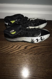 Used football cleats