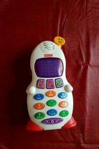 Fisher Price kids ABC and number practice cellphon