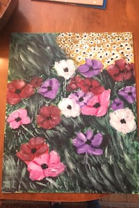 Flower acrylic painting Norfolk, 23508