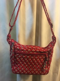 women's red and black sling bag Annandale, 22003