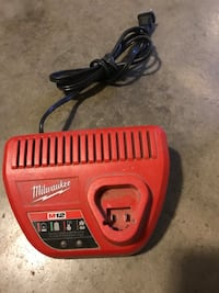 Red milwaukee m12 tool battery charger Salinas, 93901