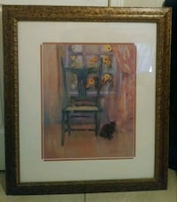 brown wooden framed painting of brown wooden house Laredo, 78040