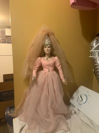 """Fairy Godmother porcelain doll 23"""" tall  Jessup, 20794"""