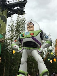Buzz lightyear statue Paris, 75002