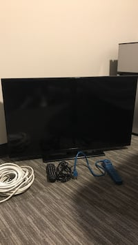 40 In Insignia LED HDTV w/ long Coaxial cable and Extension